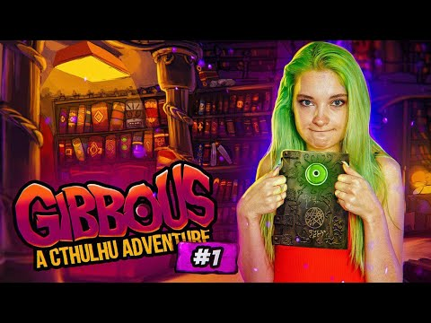 КНИГА МЕРТВЫХ! - Gibbous #1 / Gibbous - A Cthulhu Adventure / Полное прохождение