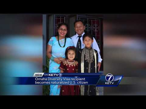 Omaha Diversity Visa recipient becomes naturalized U.S. citizen