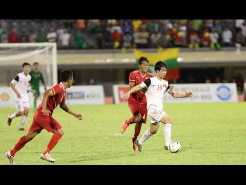 Highlights: U19 Vietnam 3-4 U19 Myanmar (Hassanal Bolkiah Trophy 2014) - 23/08/2014