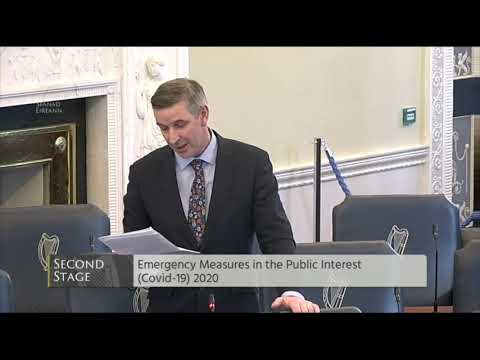 Emergency Measures in the Public Interest (Covid-19) Bill 2020: Second Stage- Friday 27th March 2020