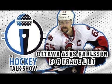 Erik Karlsson Submits Trade List!