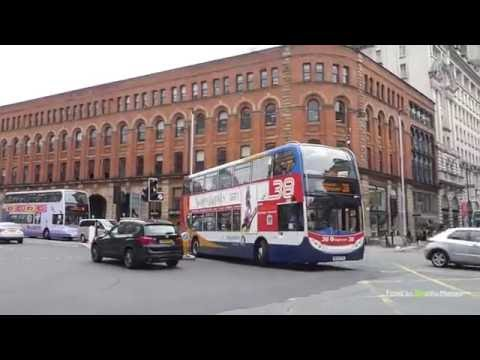 Buses In Manchester, UK 2016