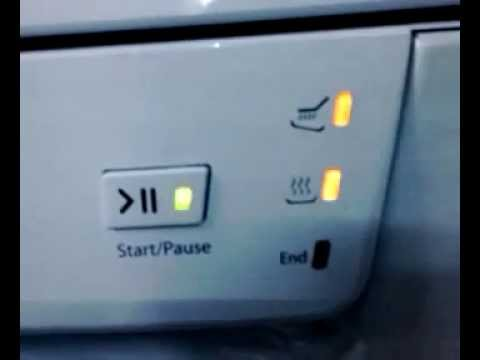 how to fix fault code on dishlex dishwasher