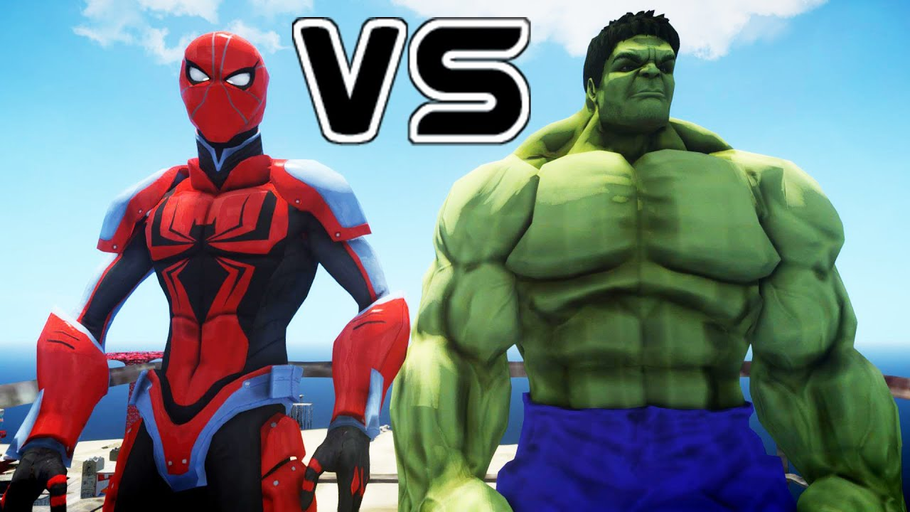 SPIDERMAN VS HULK - ENDS OF THE EARTH SPIDER-MAN - YouTube
