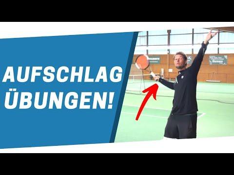 TENNIS AUFSCHLAG: Die besten Übungen from YouTube · Duration:  5 minutes 49 seconds