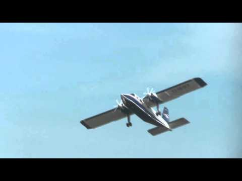 "Typ BN2 Britten Norman ""Islander"" (D-IEST) Awesome Takeoff at Harle Airport"