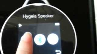 video ——Hygeia Bluetooth speaker Heart Rate Monitor / House-Service Detector Tester  /World First