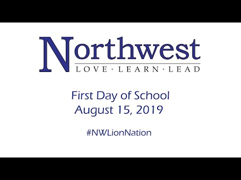Northwest School District: First Day of School 2019