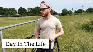 GETTING CARRIED OVER A FENCE | DAY IN THE LIFE