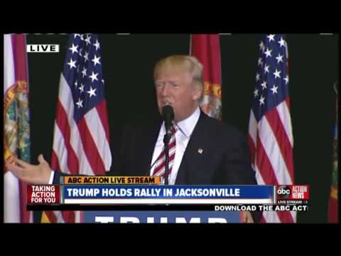 LIVE | Donald Trumps holds campaign rally in Jacksonville, Fla
