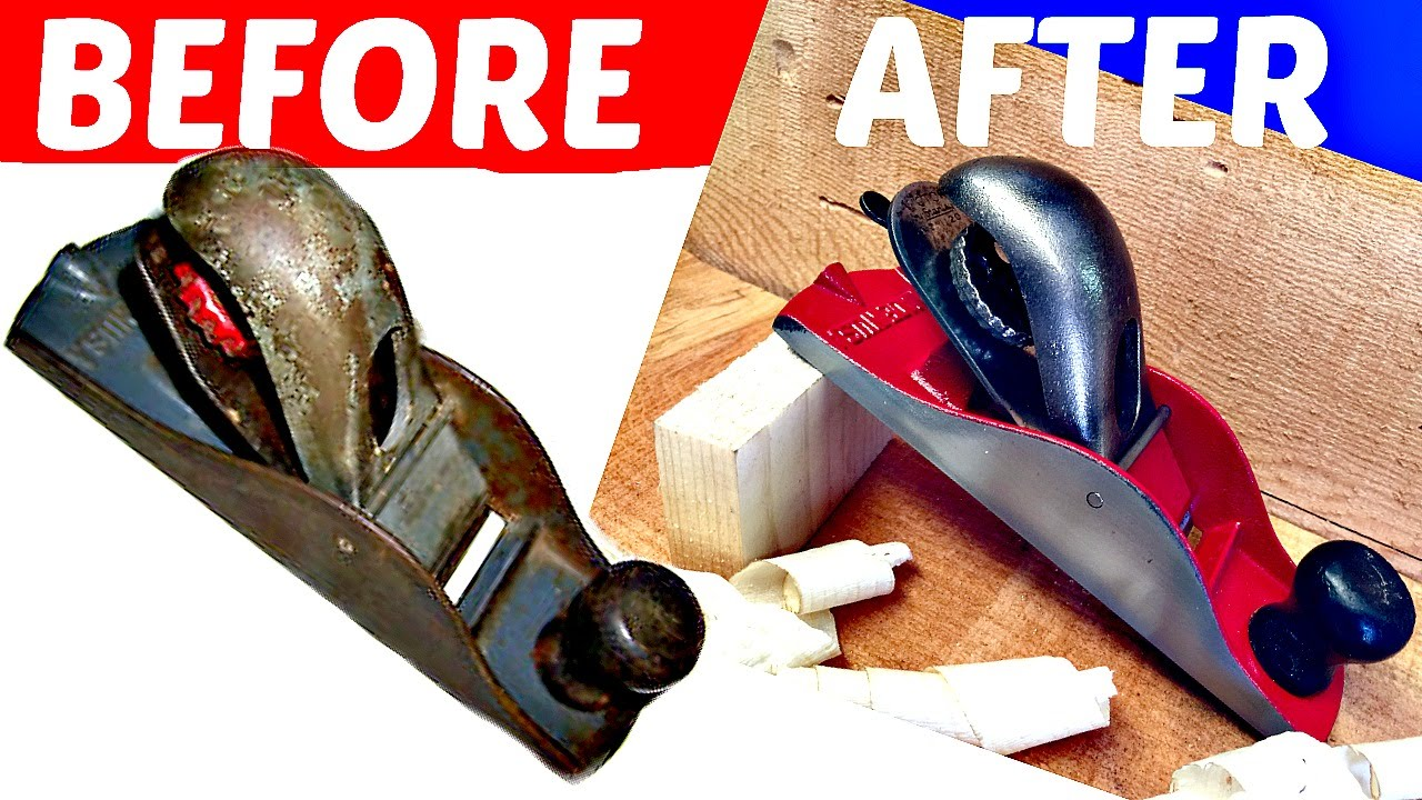 How To Restore Old Wood Planes Youtube