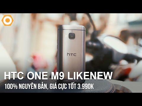 HTC One M9 Likenew: 100% nguyên bản, giá cực tốt 3.990k