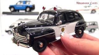 Police toy cars of the world #1