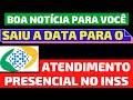 INSS Tem nova data de reabertura das agências - YouTube