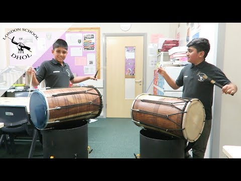 London School of Dhol   Student performance   Krishen and Vinay