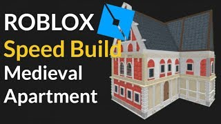 Medieval Apartment Speed Build (ROBLOX)