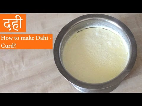 How to Make Dahi or Curd at Home - Malai Wala Dahi Recipe