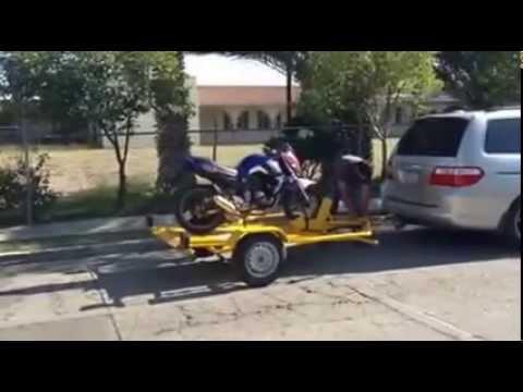 remolque levadizo para moto
