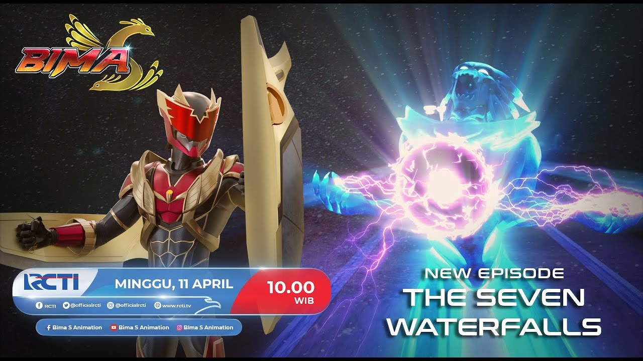"BIMA S Episode Baru ""THE SEVEN WATERFALLS""  Minggu, 11 April 2021 Jam 10.00 WIB Hanya di RCTI"