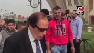 «النمنم وعبد الناصر والعلايلي» في جنازة محمود عبد العزيز