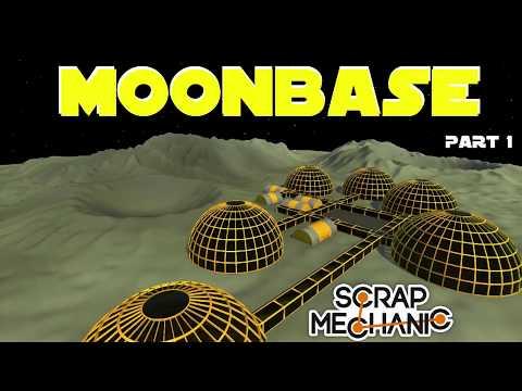 Moon Base Part 1 by sKITzo