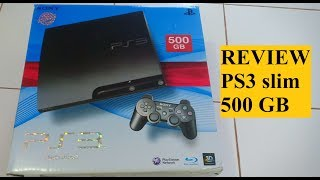 rEVIEW 03 REVIEW PS3 SLIM 500 GB / PLAYSTATION 3