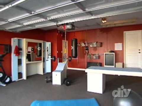 Home Gym  Garage Gym Conversion  A Garage Envy Makeover  YouTube