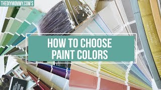 How to Choose Paint Colors for Your Home in 4 Steps