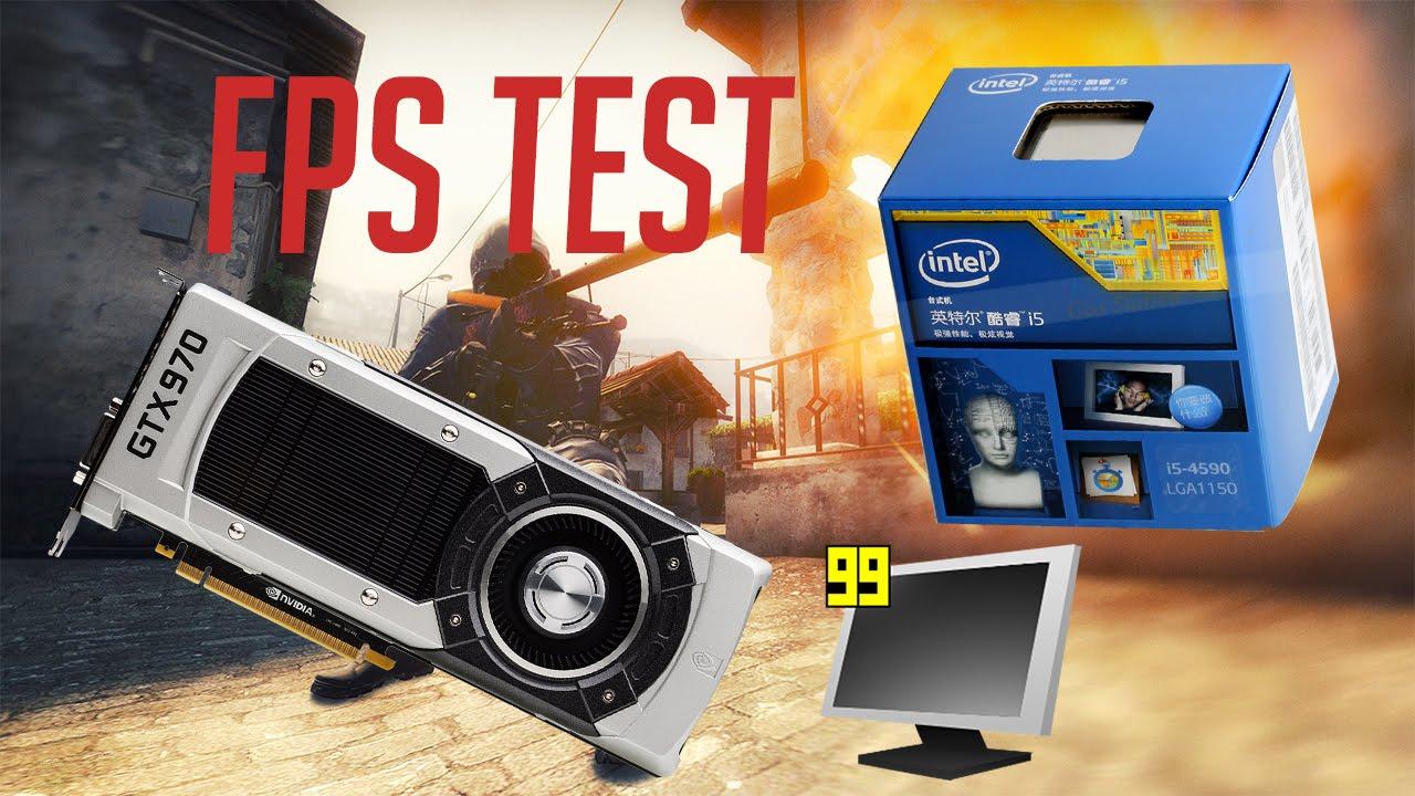 CSGO FPS Test / GTX 970 / i5 4590 / Low Settings
