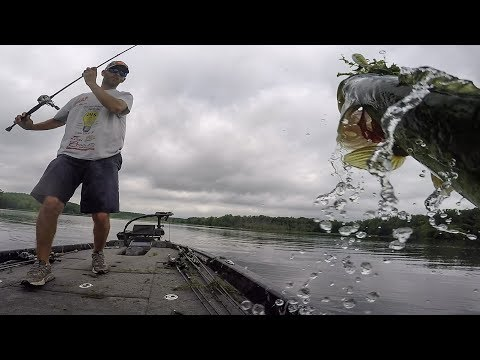 Chad Warren Puts His Popper to work on the Potomac