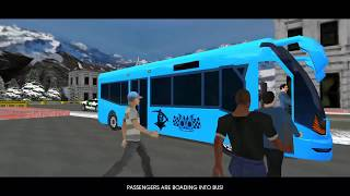 Euro Bus Simulator 2018 - NEW BUS UNLOCKED - Android gameplay by Timuz Games