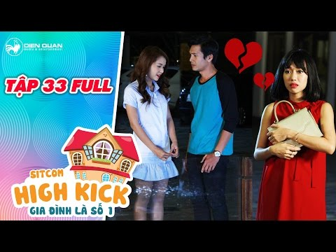 Gia đình là số 1 sitcom | tập 33 full: Diệu Nhi đau khổ khi thấy Quang Tuấn, Sam tình tứ