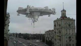 Все кто это видел испытали нервный шок. В небе над городом парил НЛО. То, чему нет объяснения.
