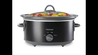Kenmore 5 Qt Slow Cooker UNBOXING / REVIEW!