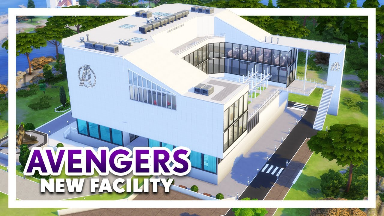 AVENGERS New Facility | Part 1: Wanda's Bedroom, Meeting Areas | Sims 4  Speed Build