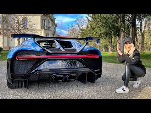 Star Wars X-Wing Fighter Bugatti | Chiron Pur Sport