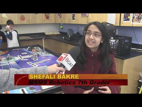 Marshall Simonds Middle School Robotics Team