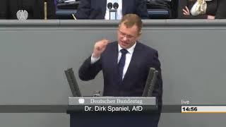 Dirk Spaniel(AfD) bringt die linken zum toben