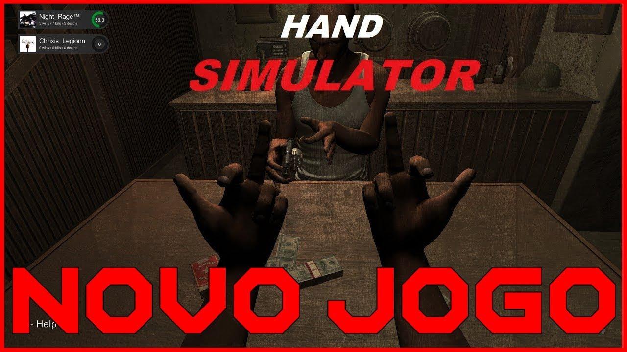 🔴 HAND SIMULATOR - NOVO JOGO COM MINIGAMES INCRÍVES - YouTube