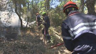 Incendie dans le Sud-Est et en Corse: des pompiers éprouvés