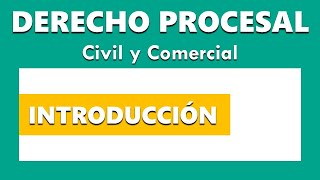 Introduction to Civil and Commercial Procedural Law