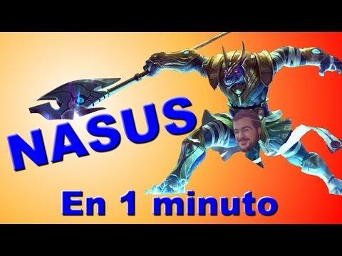 LoL | Nasus en 1 minuto