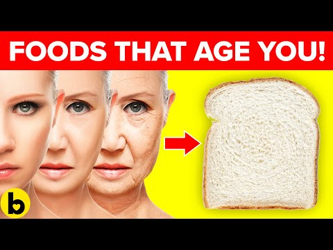 7 Popular Foods That Make You Age Faster & Look Older