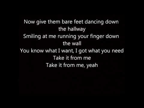 Take It From Me by Jordan Davis Lyrics