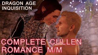 Dragon Age Inquisition: Cullen Romance with male Inquisitor - All Cutscenes (Bi Cullen Mod)