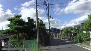 京都 岩倉 実相院までの道を紹介 大型バスでも通行可