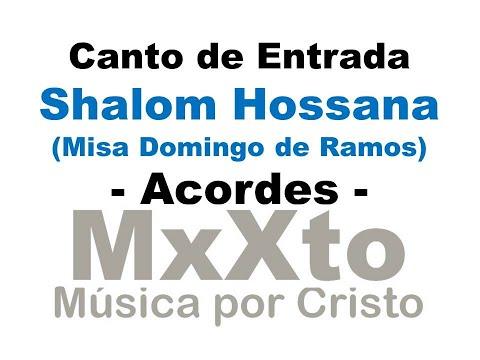 Ezama - Shalom Hossana - Domingo de Ramos
