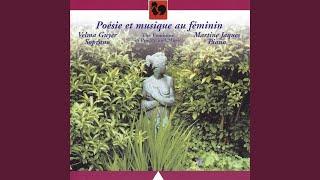 """Six mélodies du """"Livre pour toi"""" pour soprano et piano: Tu m'as demandé"""