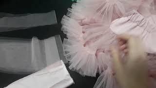 МК Юбка Американка. Мастер класс как пошить пушистую юбку 1 часть. Eli-stor.com