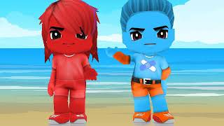 My Character Of Jet Car Stunts 2 In BuddyPoke PART 1